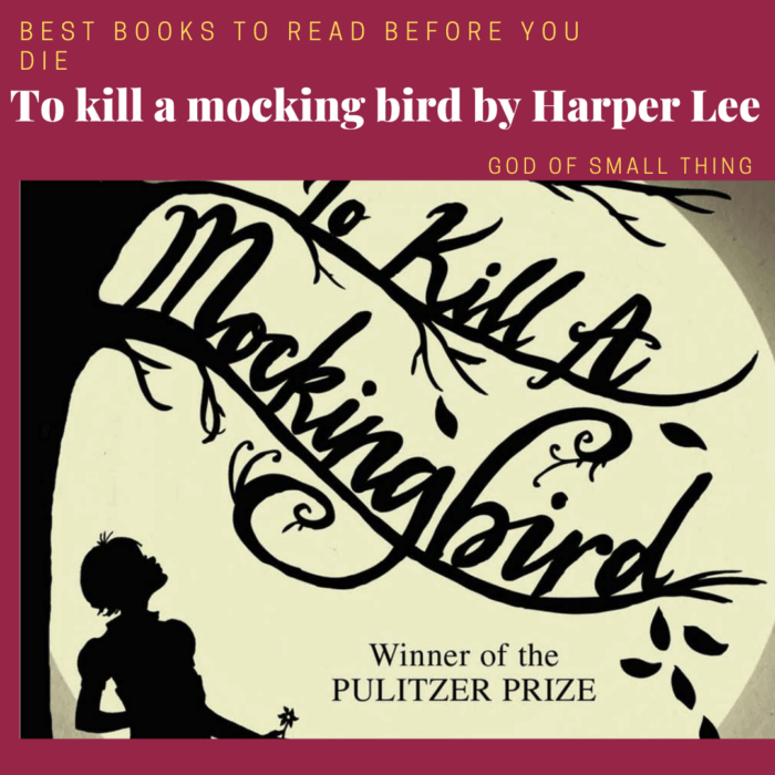 best books to read before you die: To kill a mocking bird by Harper Lee