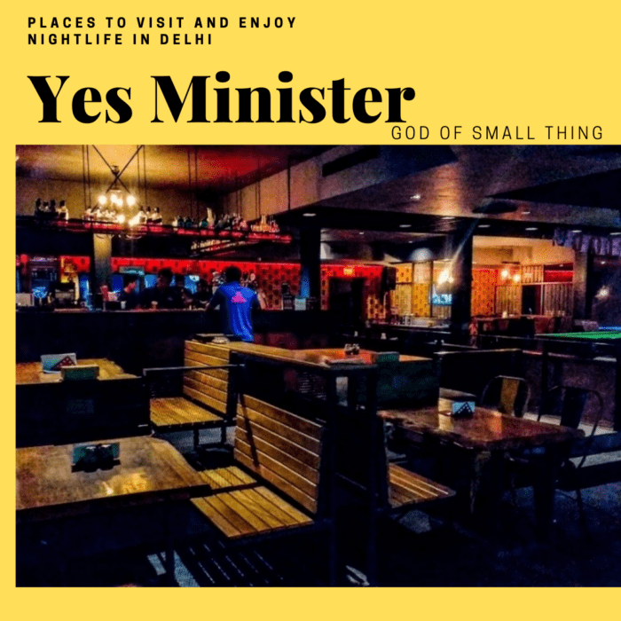 best Gaming joints in Delhi: Yes Minister