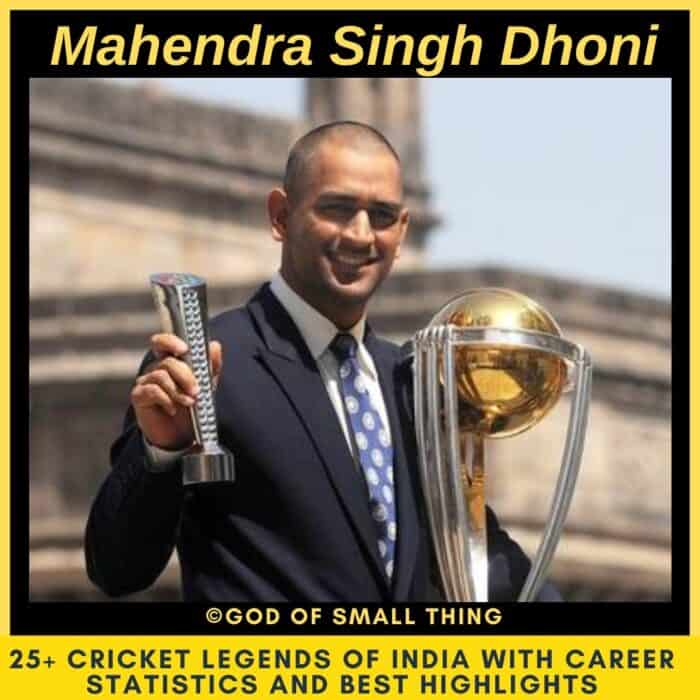 Best Cricketers of India Mahendra Singh Dhoni