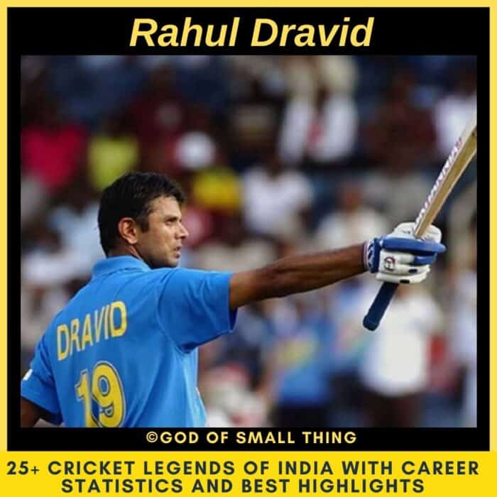 Best Cricketers of India Rahul Dravid