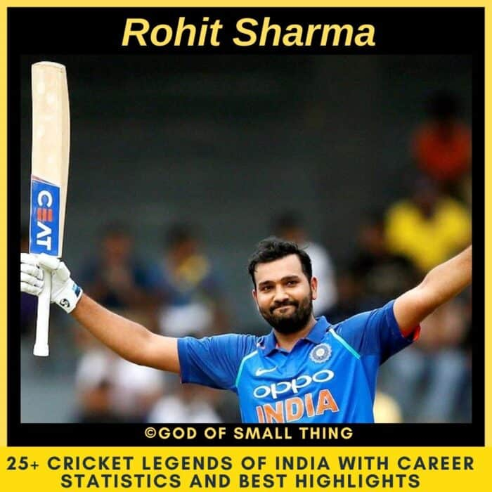 Best Cricketers of India Rohit Sharma