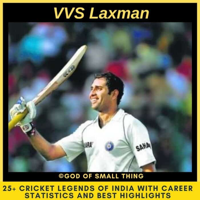Best Cricketers of India VVS Laxman