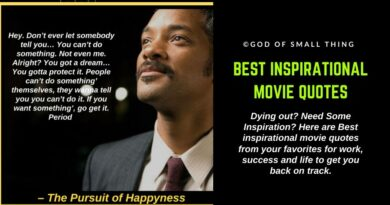 Best Inspirational movie quotes