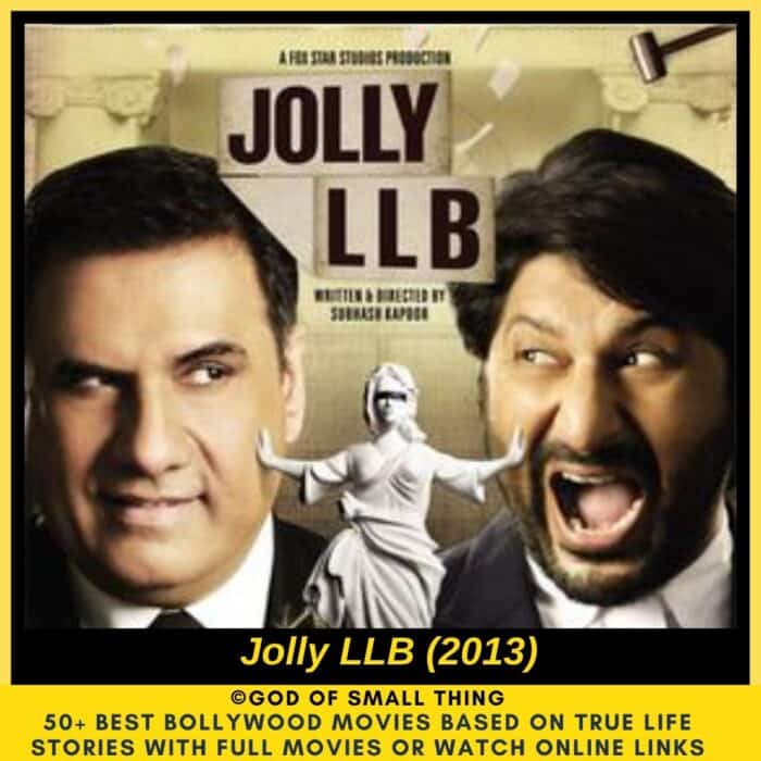 Bollywood movies based on true stories Jolly LLB