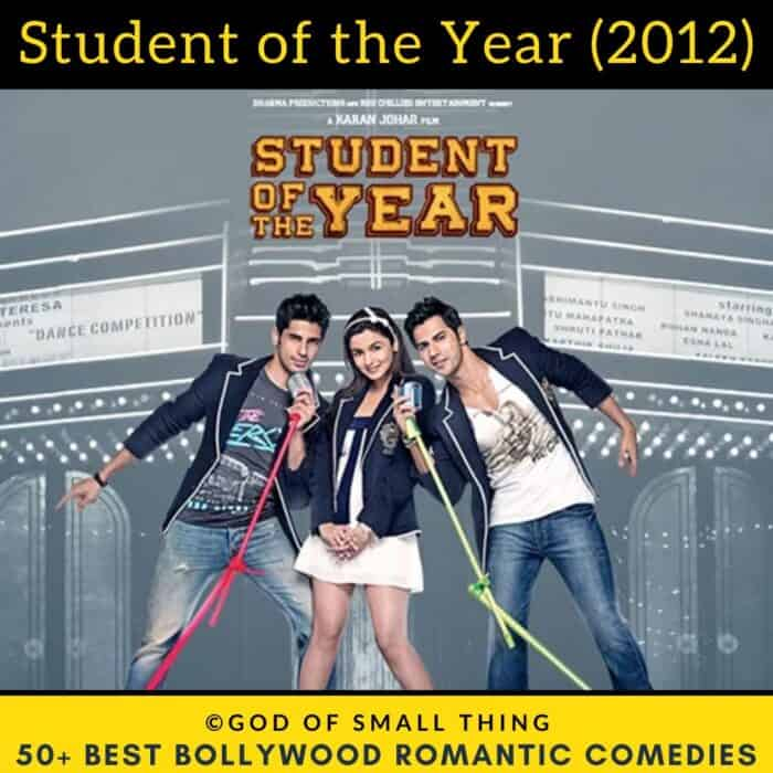 Bollywood romantic comedy movies