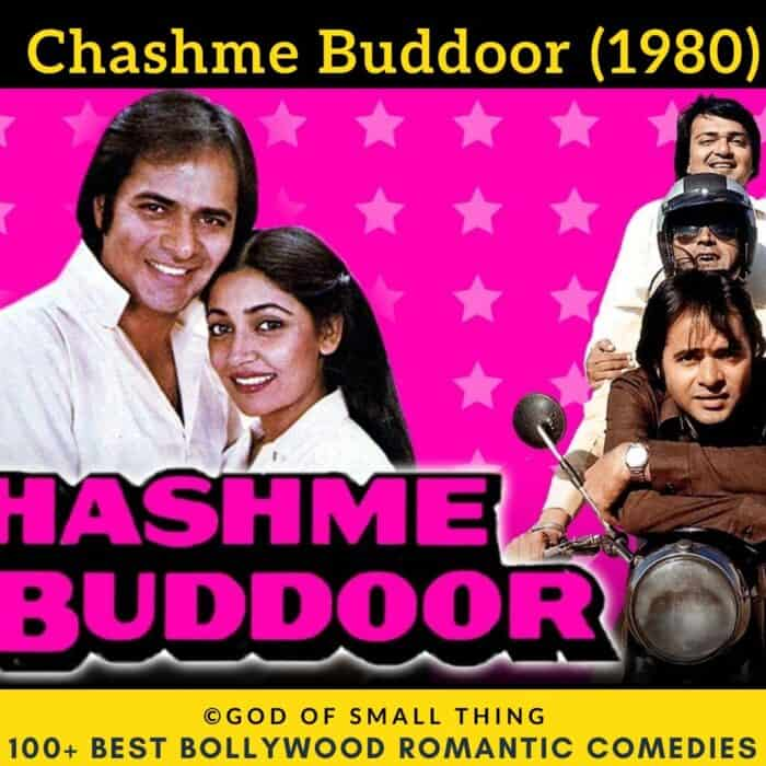 Bollywood romantic comedy movies Chashme Buddoor