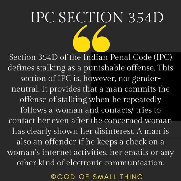 IPC Section 354D