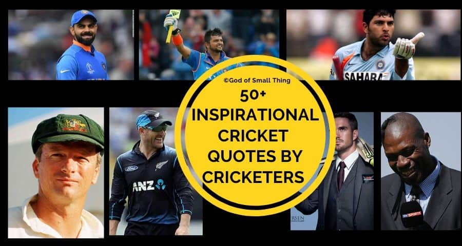 50 Inspirational Cricket Quotes By Cricketers With Images
