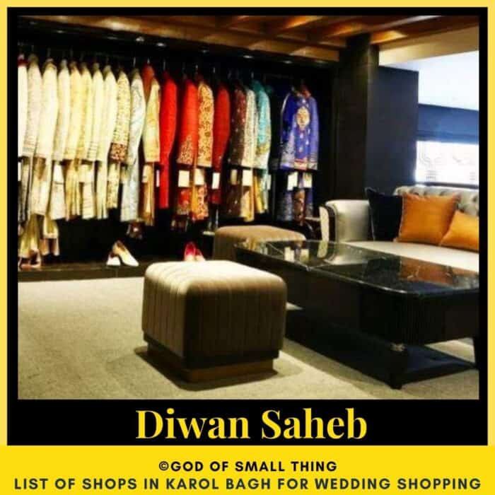 Karol Bagh wedding shopping Diwan Saheb
