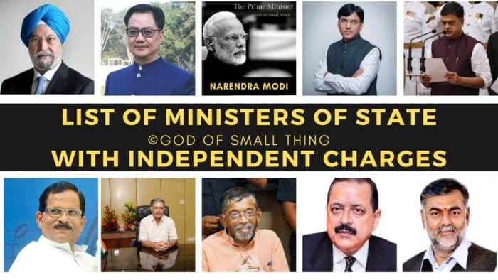 Ministers of State 2019
