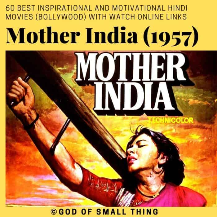 Motivational bollywood movies Mother India