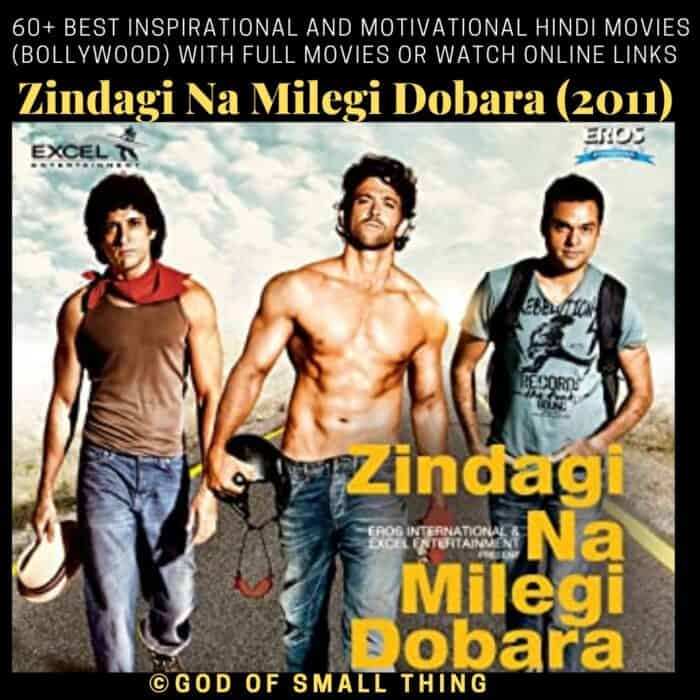 Motivational bollywood movies ZNMD