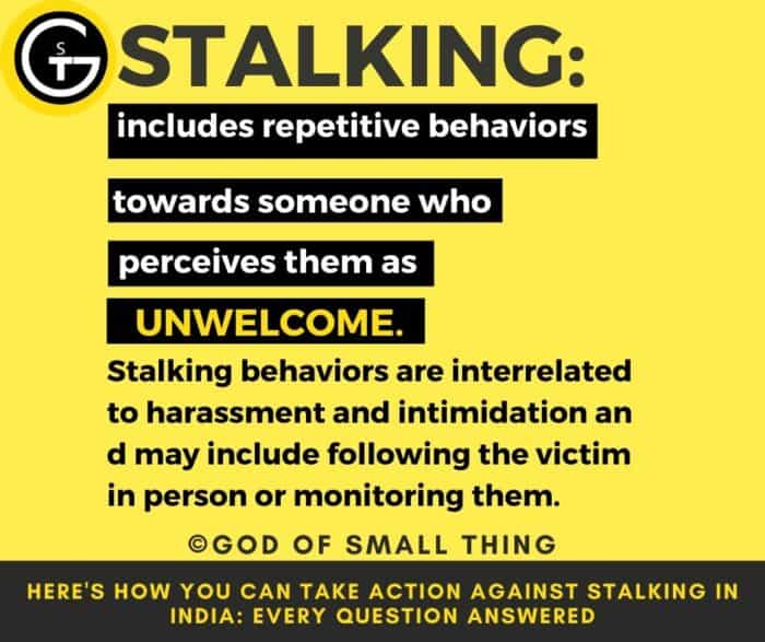 What is Stalking