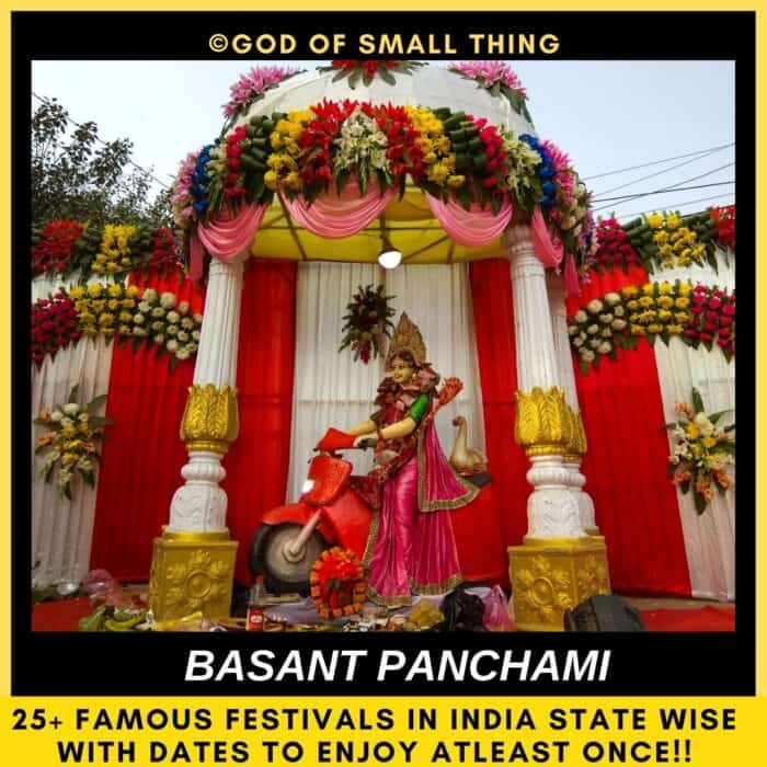 Popular festivals in India Basant Panchami