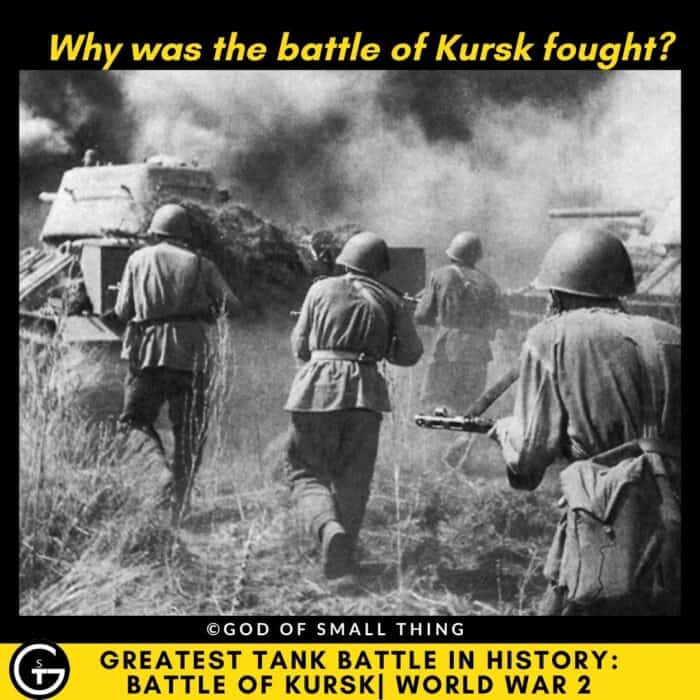 Why was the battle of Kursk fought