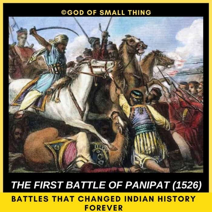top 5 battles of India: Battle of Panipat