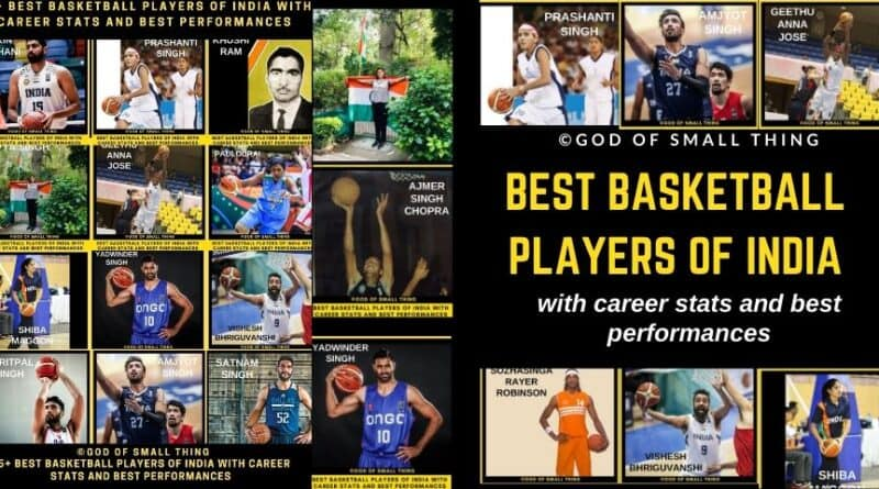 Best Basketball Players of India