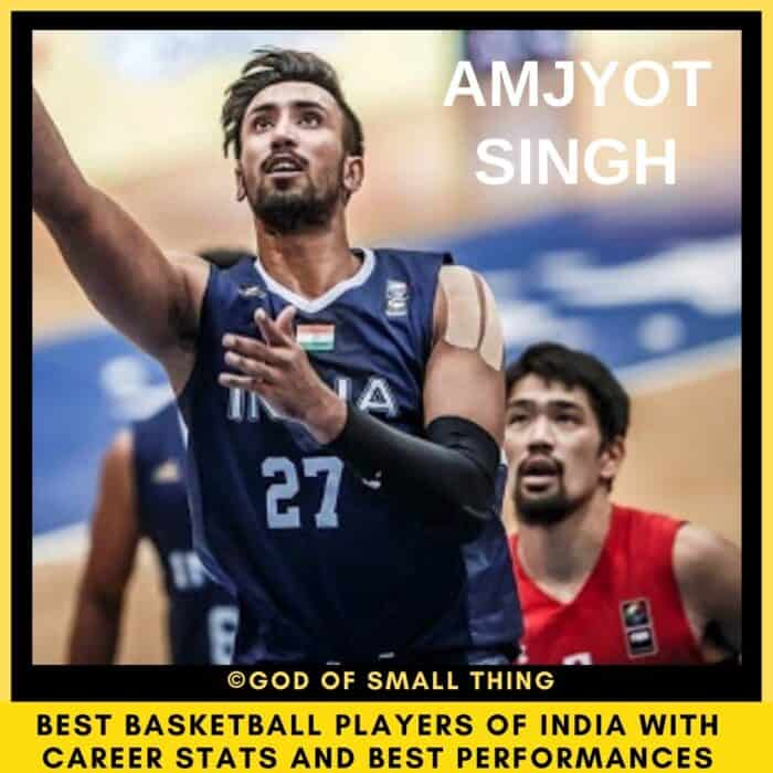 Best Basketball Players of India Amjyot Singh