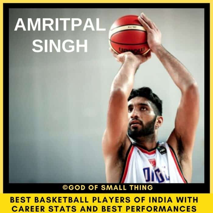 Best Basketball Players of India Amritpal Singh
