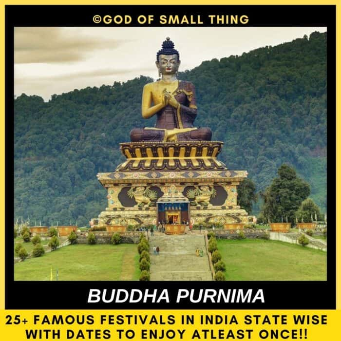 Indian festivals Buddha Purnima in india