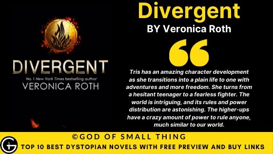 Best Dystopian Books: Divergent book review