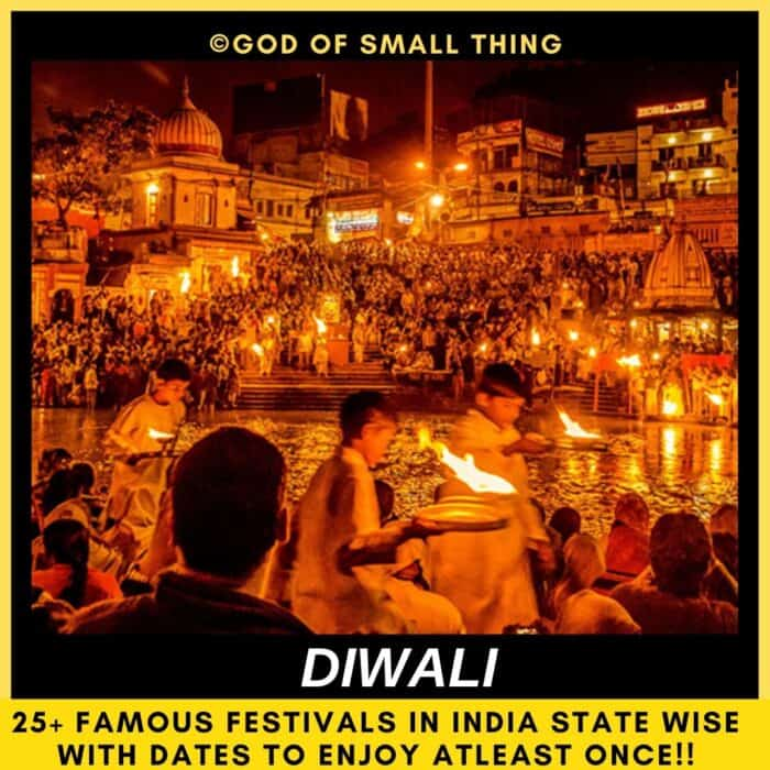 Famous Festivals in India Diwali India