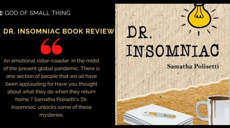 Dr Insomniac by Samatha Polisetti Book Review