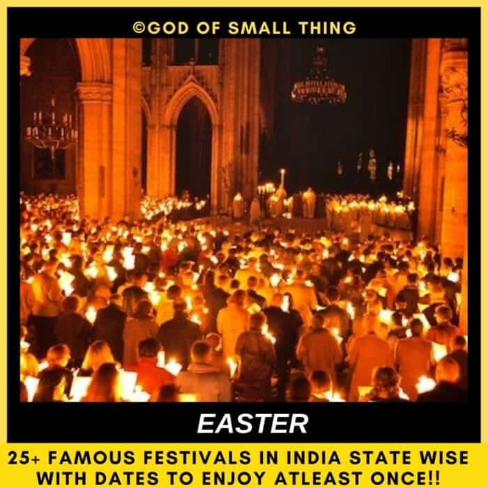 festivals of India Easter