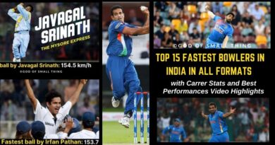 Fastest Bowlers of India