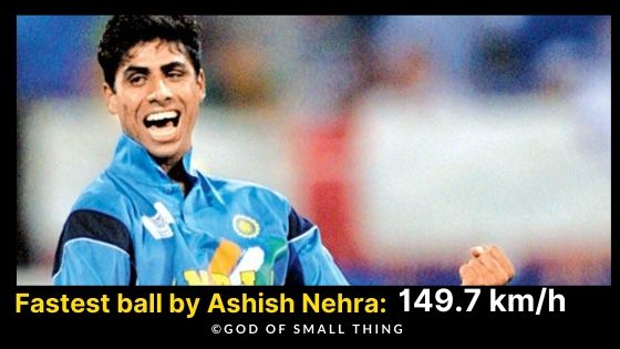 Best Fast Bowlers of India Ashish Nehra