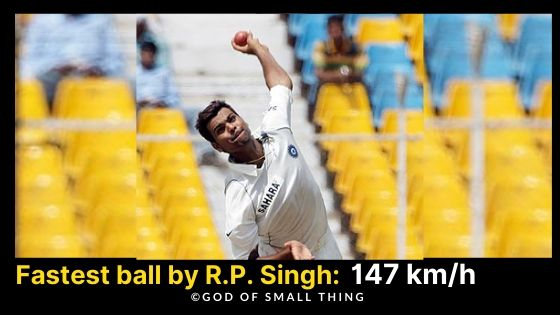Fastest Bowlers of India R.P. Singh