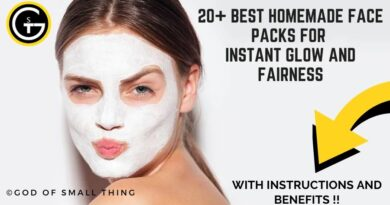 Homemade Face Packs for Instant Glow