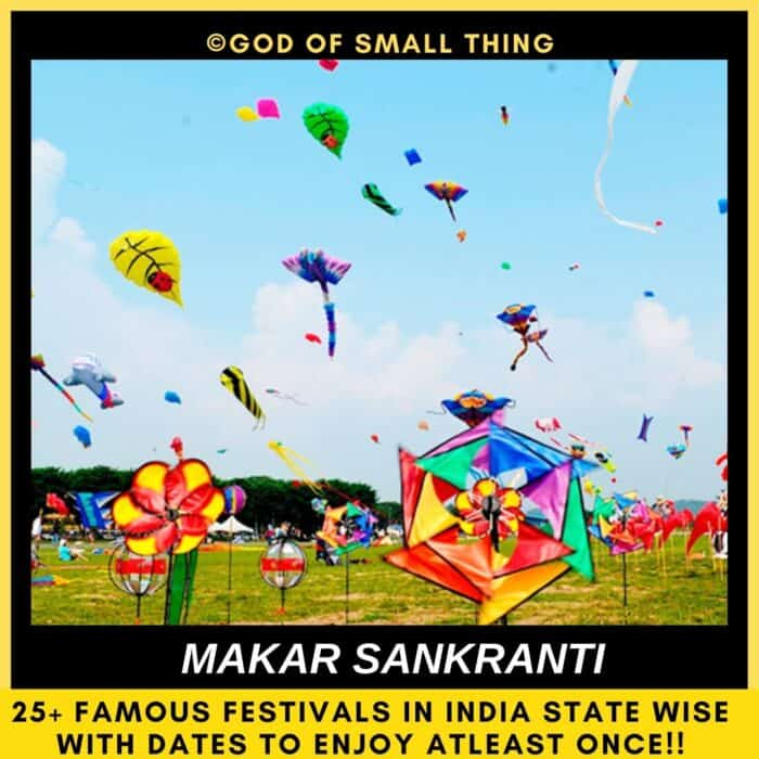 Indian festivals Makar Sankranti in india