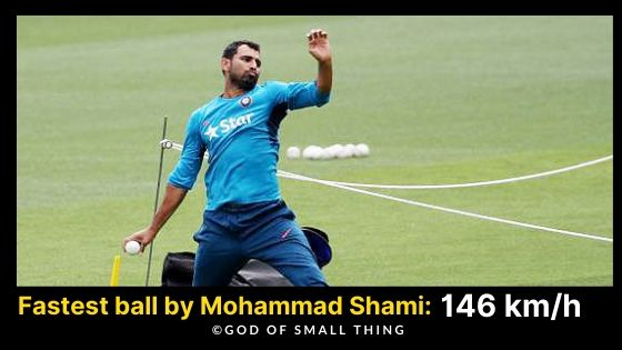 Mohammad Shami Indian Pace Attack