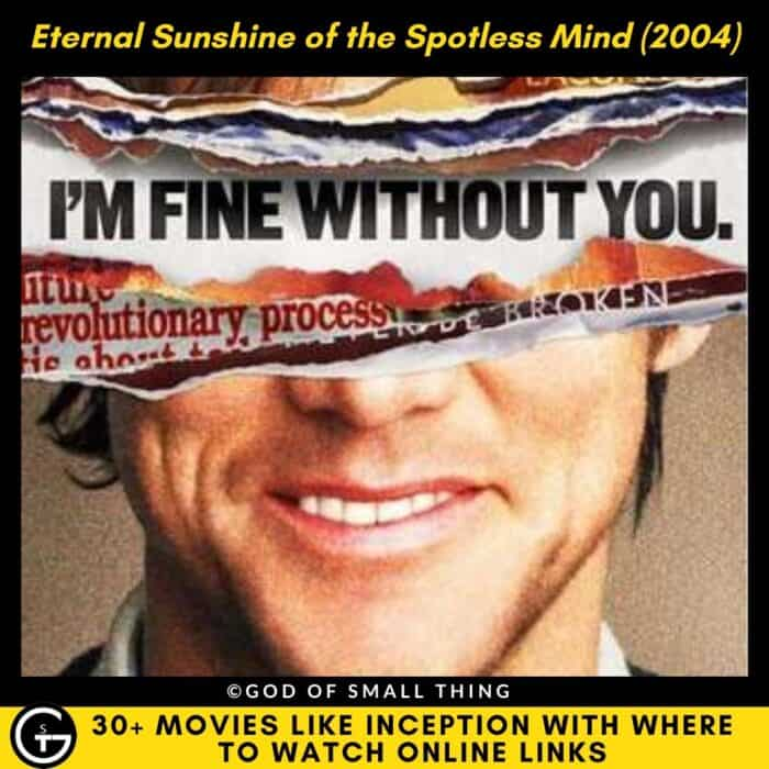 Movies Like Inception Eternal Sunshine of the Spotless Mind (2004)