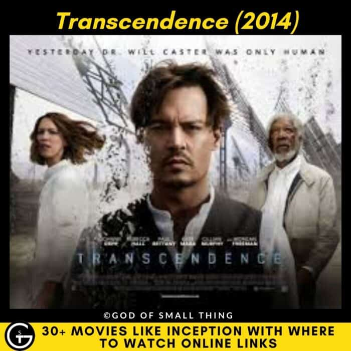 Movies Like Inception Transcendence
