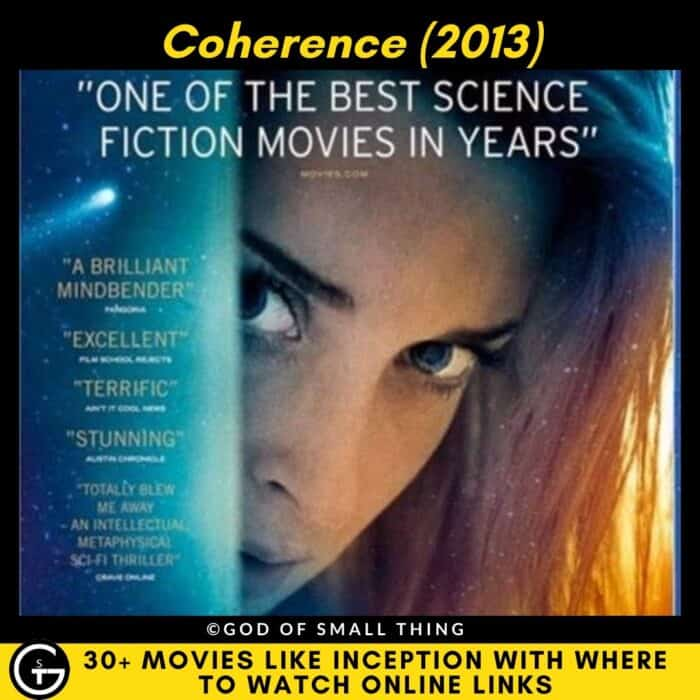 Movies Like Inception Coherence (2013)