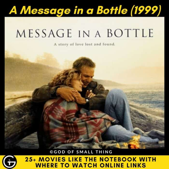 Movies Like The Notebook A Message in a Bottle