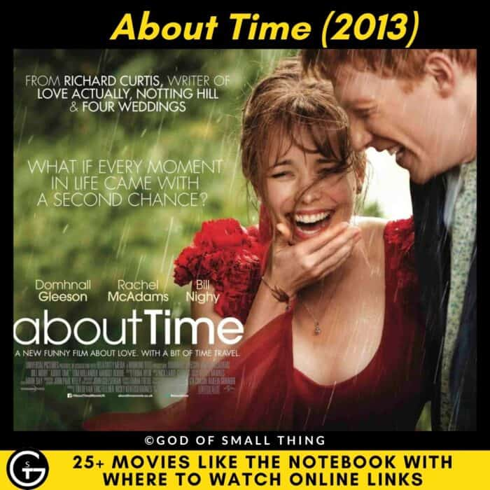 Movies Like The Notebook About Time
