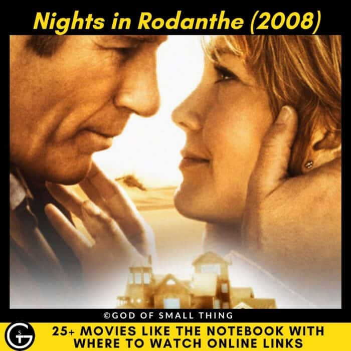 Movies Like The Notebook Nights in Rodanthe