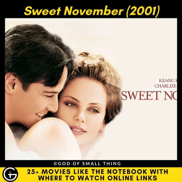 Movies Like The Notebook Sweet November