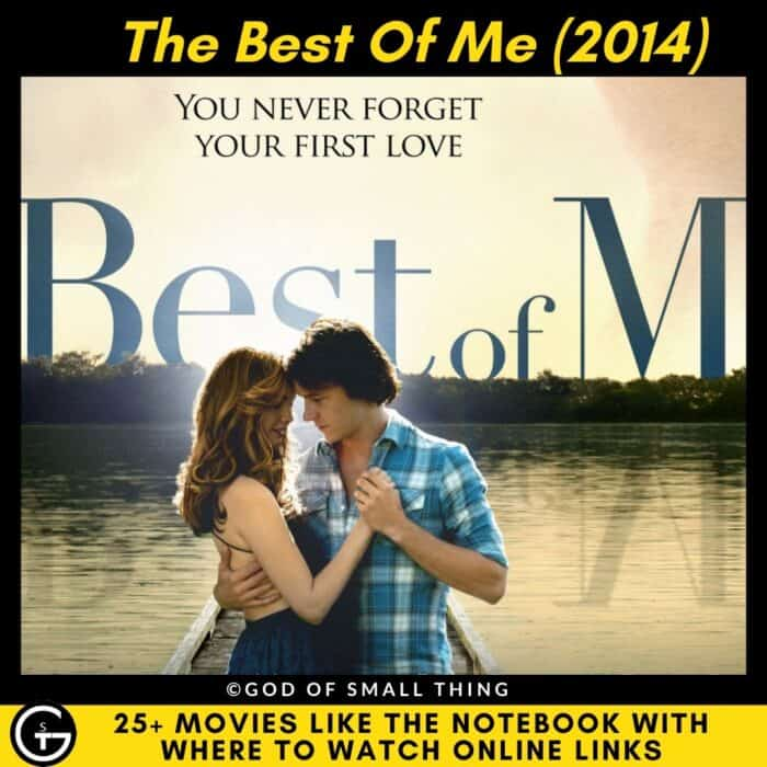 Movies Like The Notebook The Best Of Me