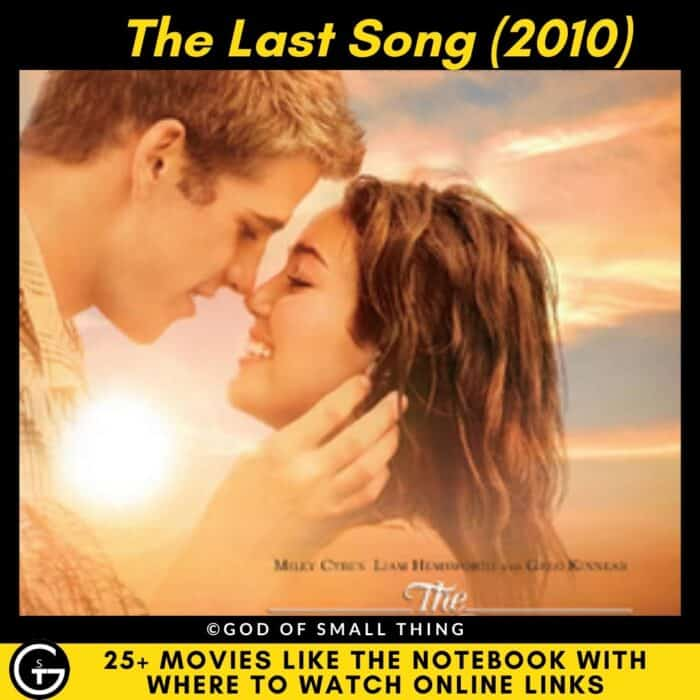 Movies Like The Notebook The Last Song