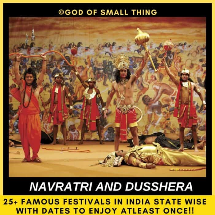 Navratri and Dusshera India
