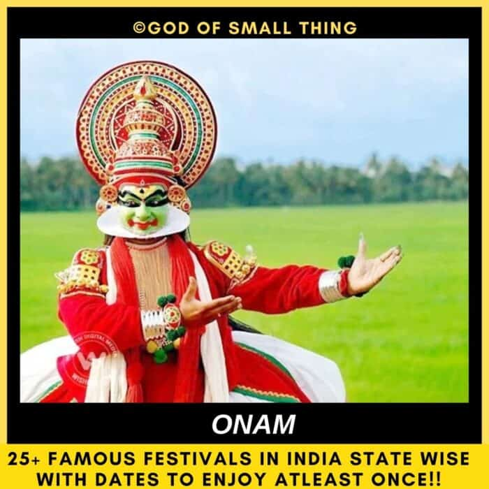 festivals of India Onam