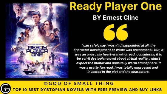 Best Dystopian Books: Ready Player One book review