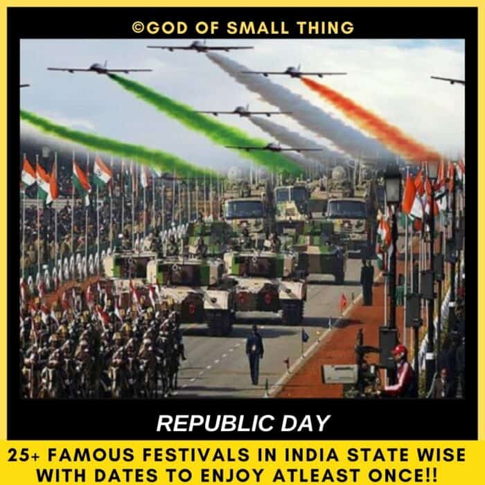 Famous Festivals in India Republic Day Rajghat