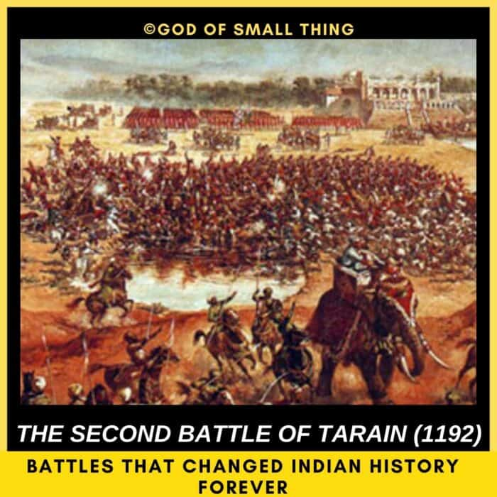 top 5 battles of India: Second Battle of Tarain