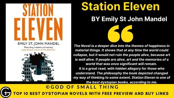 Best Dystopian Books: Station Eleven book review
