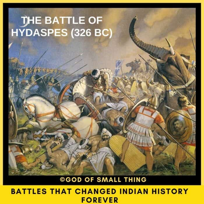 top 5 battles of India The Battle of Hydaspes
